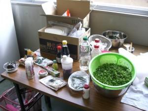 いよいよ調理の工程へ入る準備はできています。